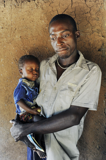 Mozambique, Chiuta District, Kaunda Village, April 2010. Family life in a small rural village.(Unicef).