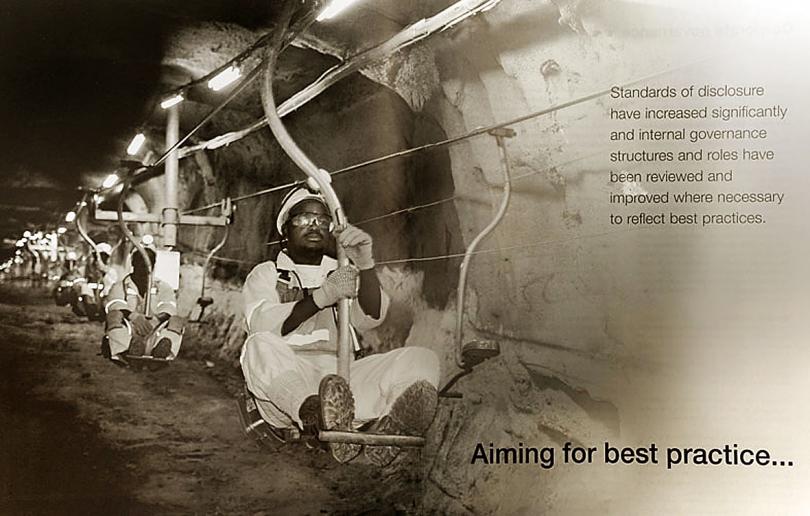 Implats Annual Report 2010. Platinum mining.