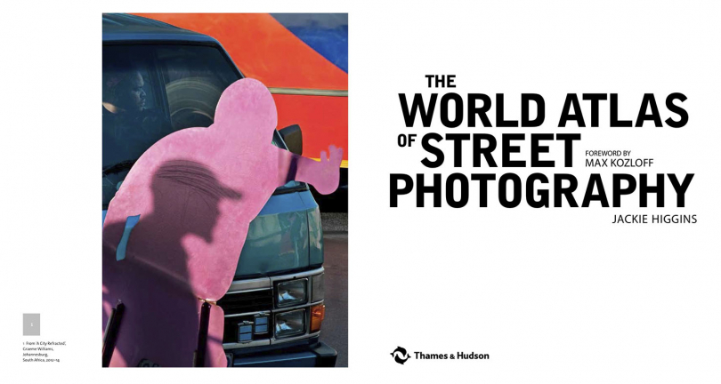 An image feomthe essay, A city refracted is chosen  for the opening spread in the World Atlas of Street Photography. Published by Yale University Press and Thames and Hudson. 2014.