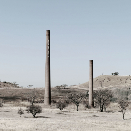 An abandoned brick factory. Newcastle, South Africa. 2011.