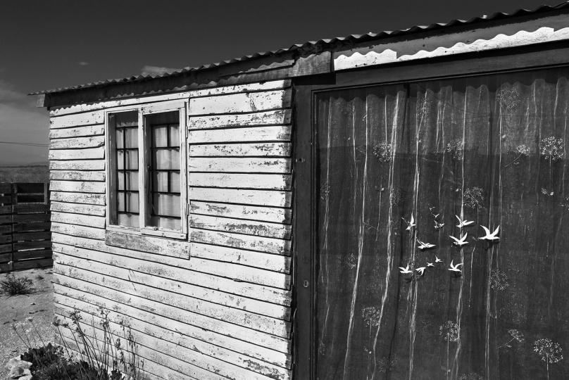 A shack in an informal settlement. Velddrif. 2018.