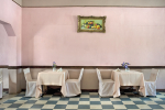 The dining room at the Capital City Motel. Lilongwe, Malawi. 2009.