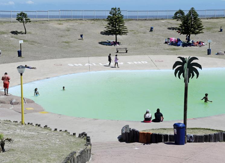 Mnandi resort. Strandfontein. Cape Town. 2016.